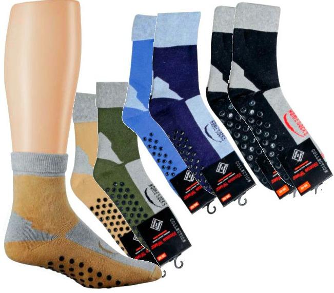 2 Paar TippTexx24 Homesocks / ABS-Socken / Stopper Socken
