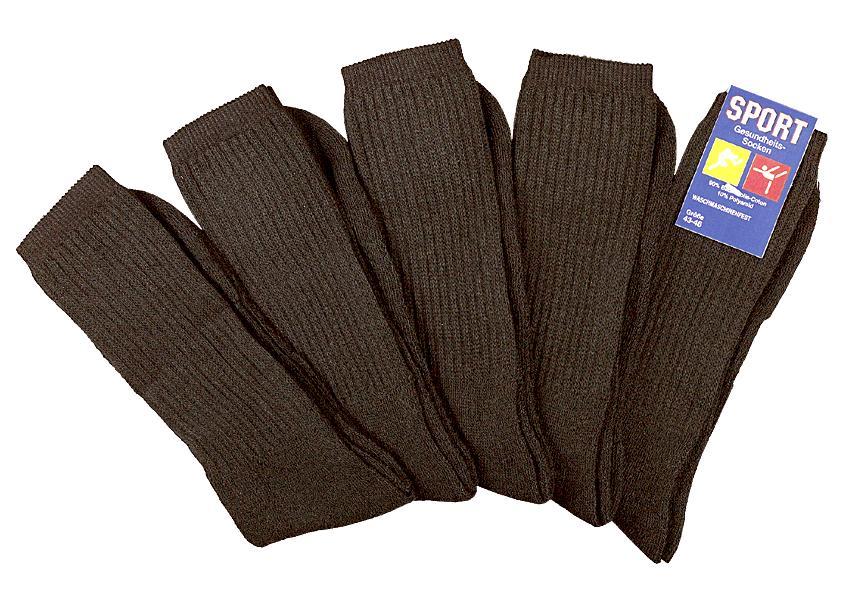10 Paar Sport-Funktions-Socken auch als Arbeitssocken schwarz